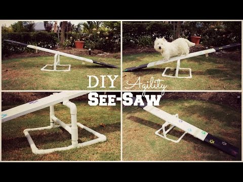 How To: DIY Agility See-Saw | TheDogBlog