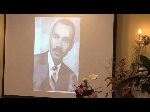 Funeral Services for Bishop Harvey F. Jones