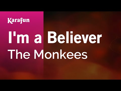 Karaoke I'm A Believer - The Monkees *