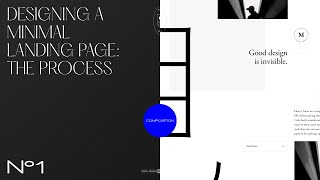Designing a minimal landing page: the process - Part I