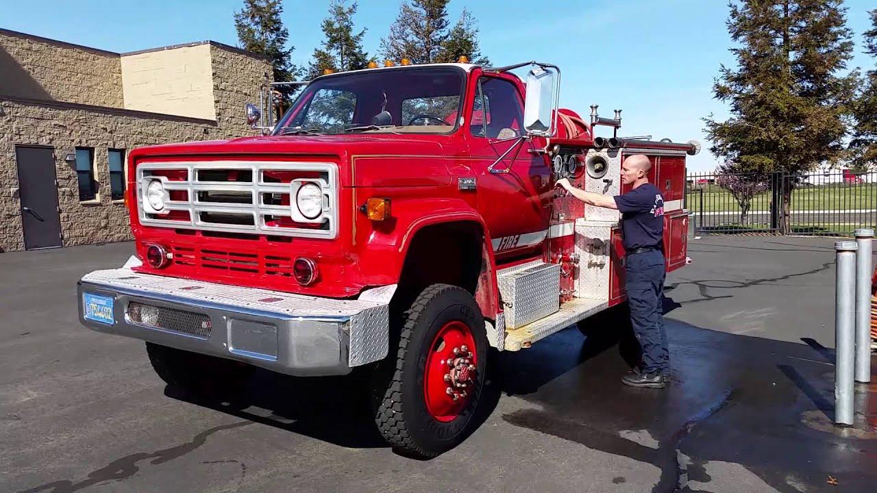 Auction  1550053 - 1979 Gmc 7000 Diesel Fire Engine