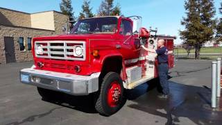 Auction #1550053 - 1979 GMC 7000 Diesel Fire Engine