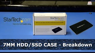 The Super-Slim USB 3.0 case for 7mm drives - The StarTech S2510BPU337