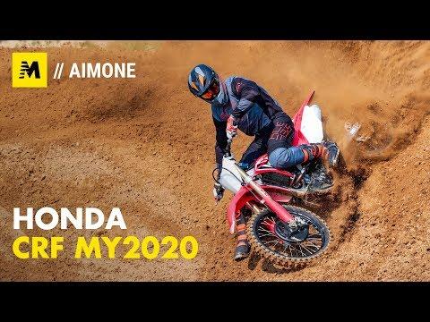 Honda CRF 250R E CRF 450R M.y. 2020.  Il Test Sulla Sabbia Di Dorno