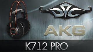 AKG K712 PRO. Основные наушники Дока ;)