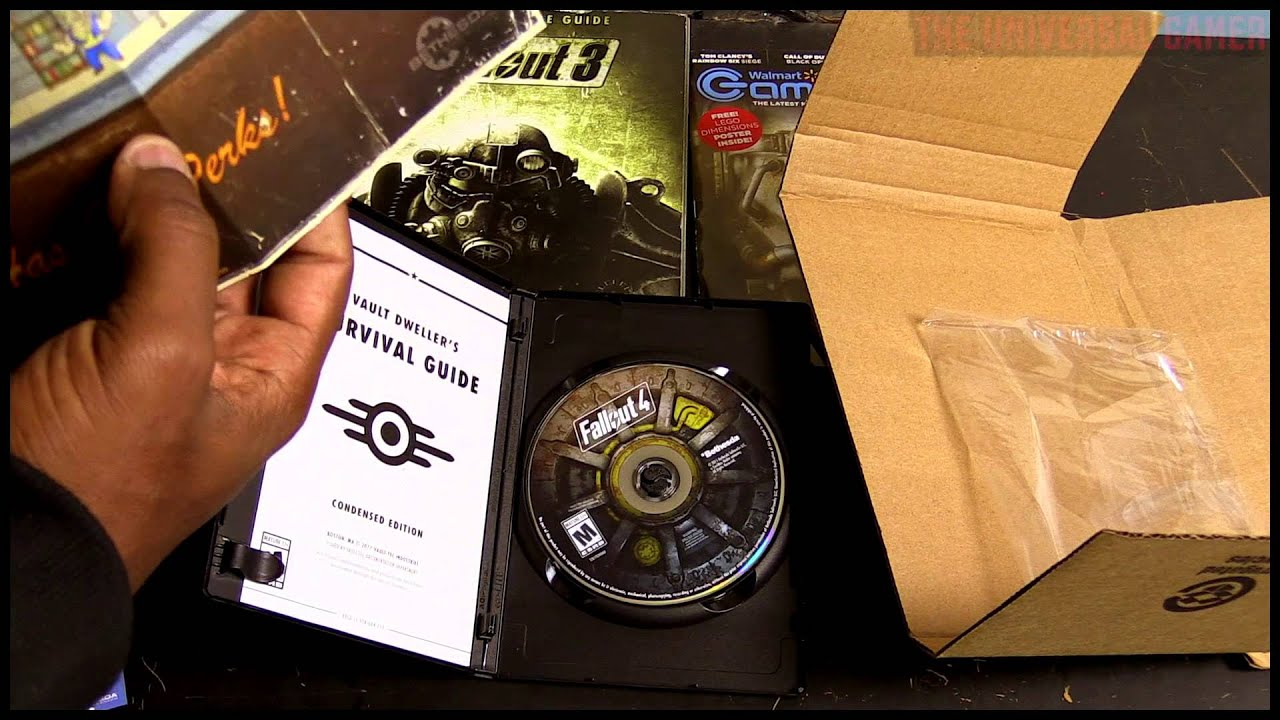 Fallout 4 PC Unboxing Vlog