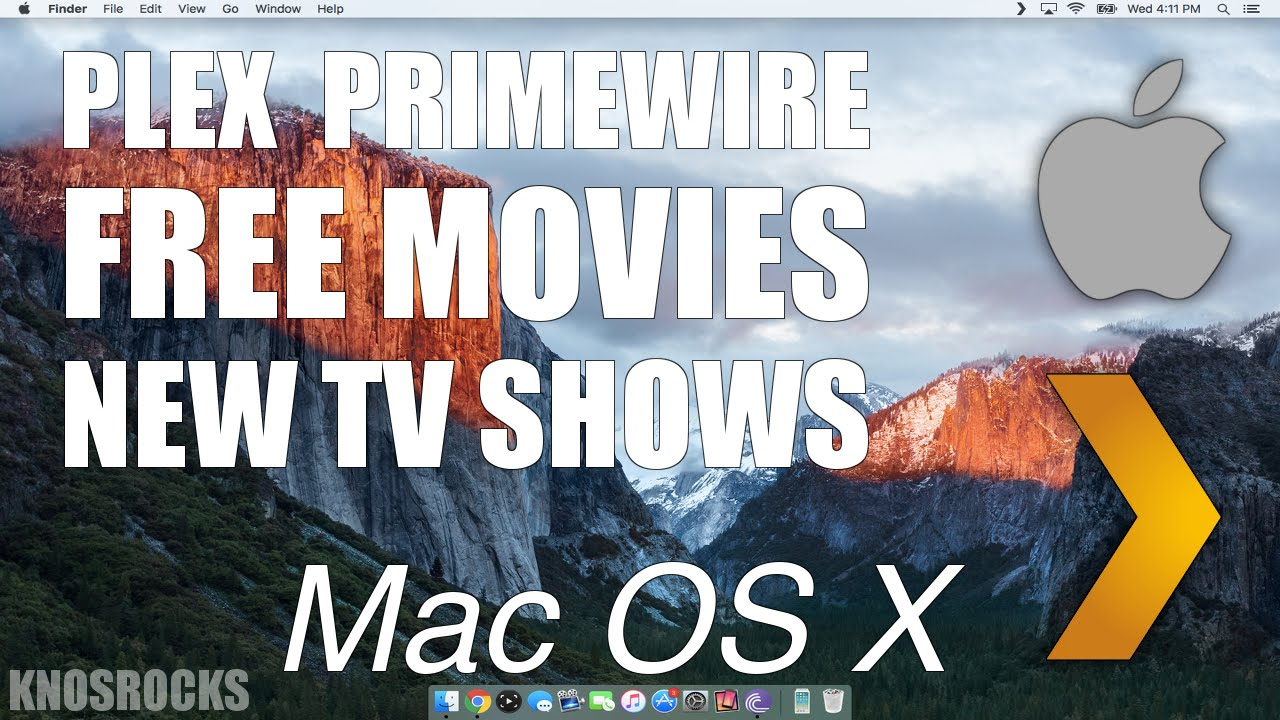How To Watch HD Movies & TV Shows On Mac OS X El Capitan & Yosemite Free Plex & PrimeWir