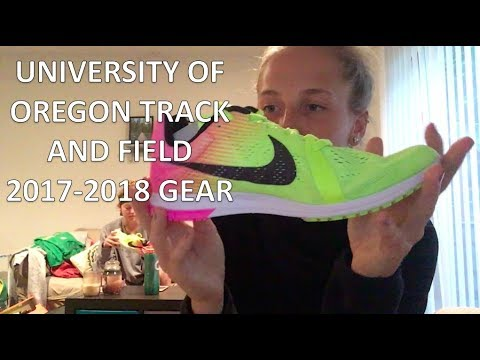 2017 NIKE OREGON TRACK AND FIELD GEAR UNBOXING