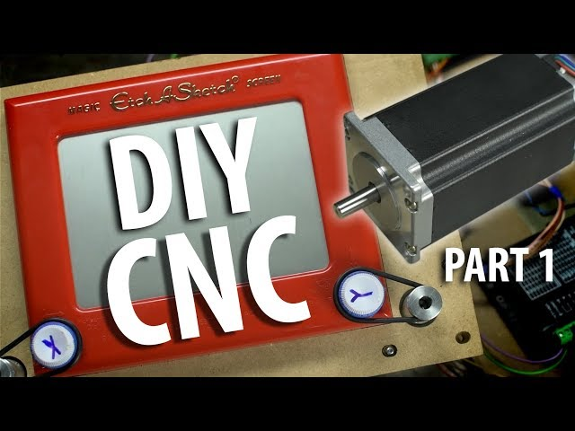 Build Your Own CNC! (Part 1) - Hardware