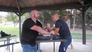 Minnesota Armwrestling: Monticello Practice part 2