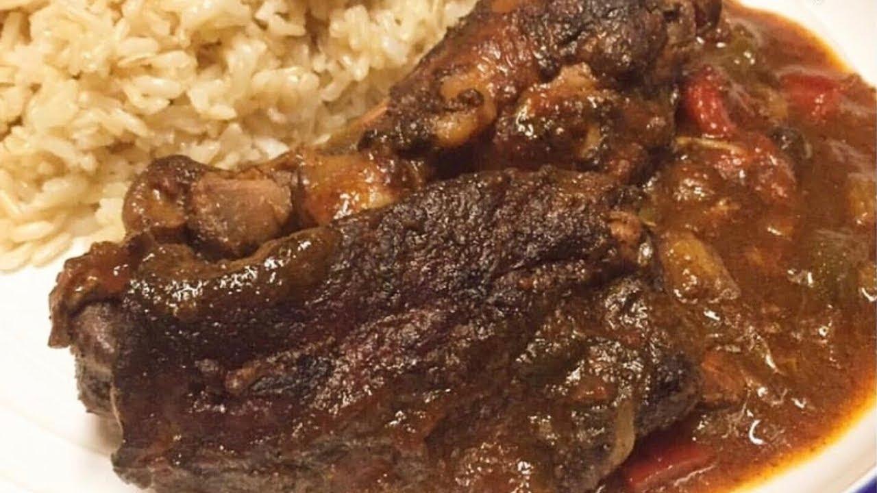 jamaican stew chicken recipe  how to make jamaican brown