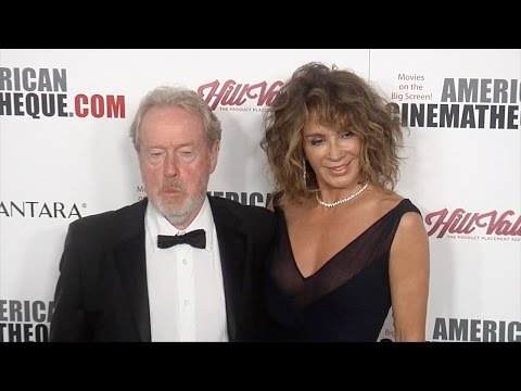 Ridley Scott & Giannina Facio 30th Annual American Cinematheque Award Gala Red Carpet