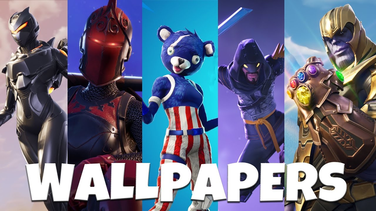 Fortnite 50 Awesome Wallpapers Backgrounds Youtube