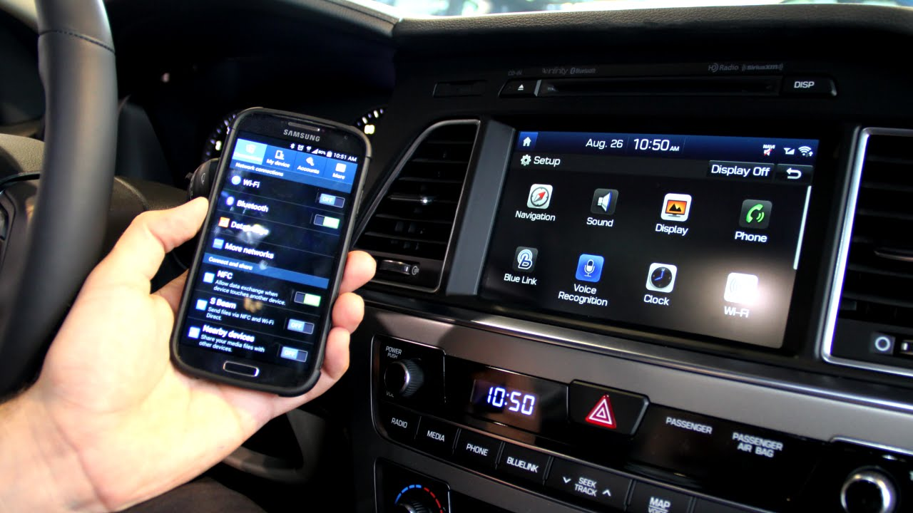 How To Pair Your Bluetooth Smart Phone To The 2015 Hyundai