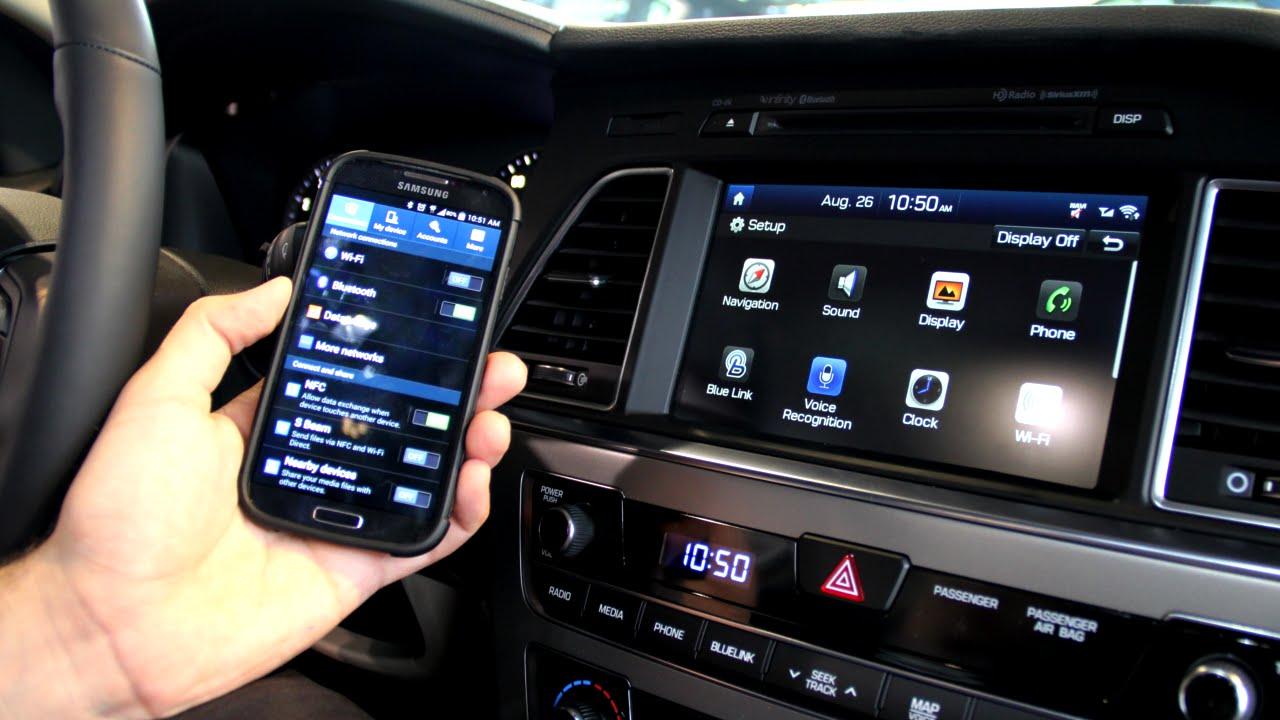 Zimbrick Hyundai East >> How To Pair Your Bluetooth Smart Phone To The 2015 Hyundai ...