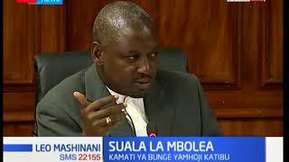 Dr.Alfred Mutua apoteza kiti chake cha Ugavana:Leo Mashinani full bulletin