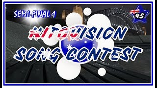 (CLOSE) First Semifinal | Hitovision Song Contest (#5) ♪