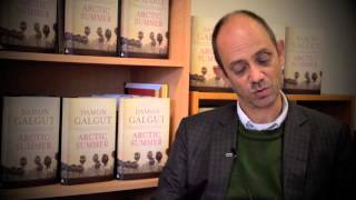 Damon Galgut reads from the opening chapter of Arctic Summer