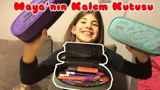 Maya's Pencil Case | Our Family