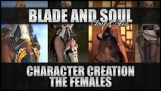Repeat youtube video ♛ Blade and Soul - Character Customisation - The Females!