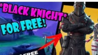 How to get the black knight for free in fortnite battle royale