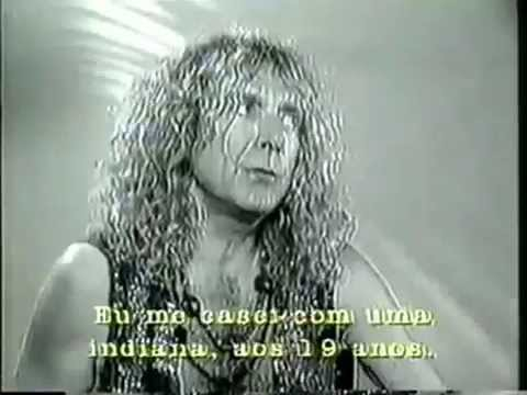 Robert Plant - Inteview with Bruna Lombardi - Gente de Expressao -1994