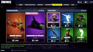 (LIVE PS4) FORTNITE, SKIN OF THE CAVEIRÂO IN THE STORE HJ.. Is??? TOWARDS 260 WINS WE'RE JUST GOING TO!!!!