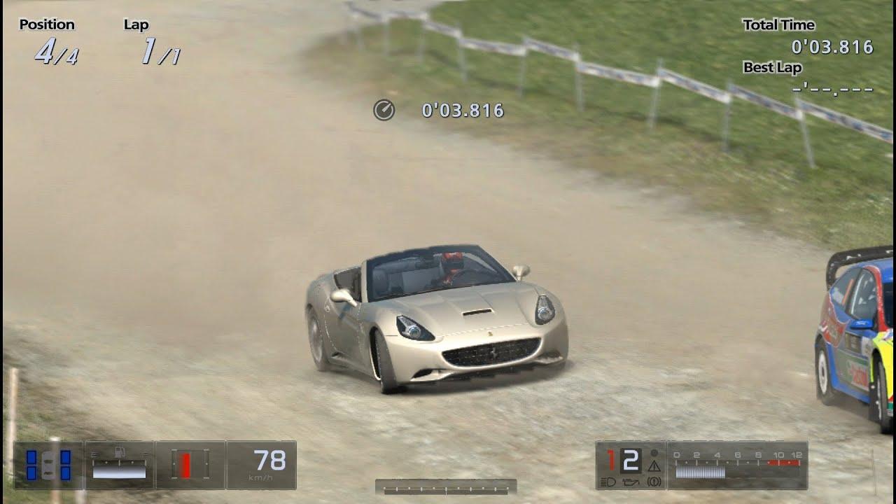 GT5 ラリーカー VS フェラーリ カリフォルニア Rally Cars VS Ferrari ...