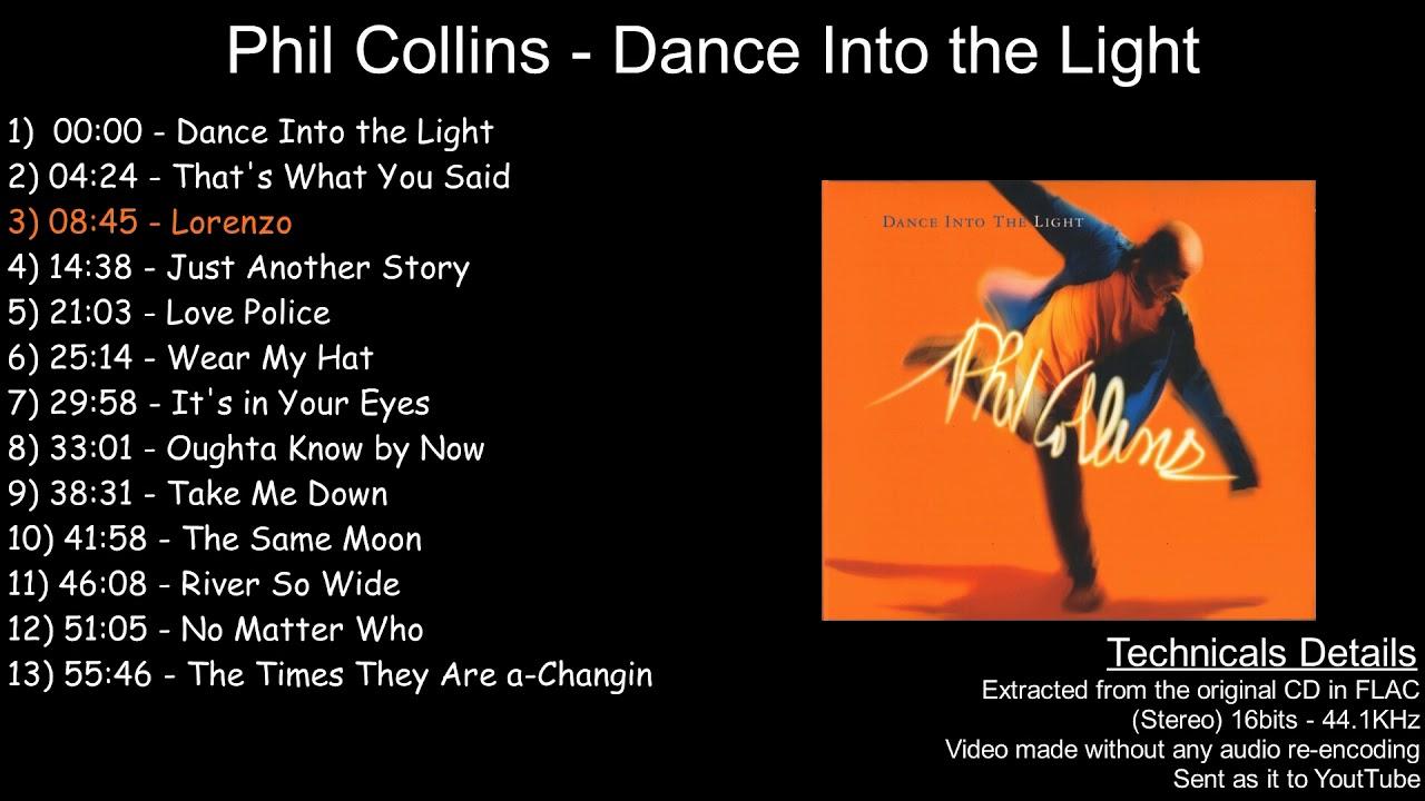 Download Phil Collins - Dance Into the Light [Full Album]