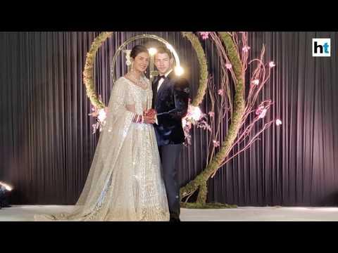 Watch: Priyanka Chopra, Nick Jonas host wedding reception in Delhi