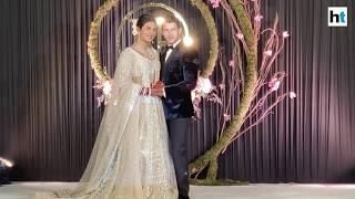 Watch: Priyanka Chopra, Nick Jonas host wedding reception in Delhi
