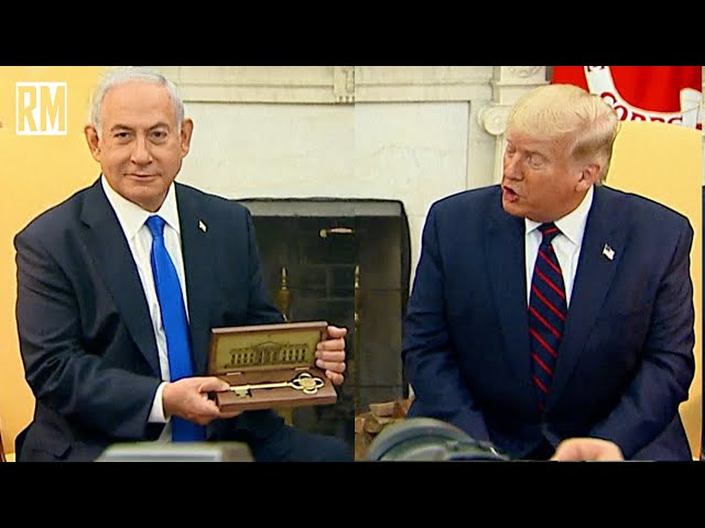 Trump Gives Netanyahu Key to White House
