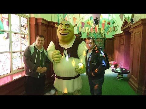 London Vlog - Eye, Dungeons, Sealife, Shreks Adventure, River Cruise & More - SJBBVideos