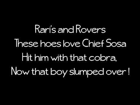Chief Keef - Love Sosa Lyrics On Screen