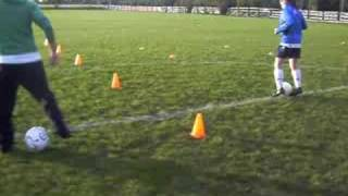 Milton Magic Girls Soccer Training