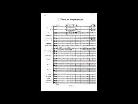 Gustav Holst: The Planets op. 32 (audio, score)