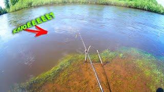 РЫБАЛКА ВЕСНОЙ ПОЛОВОДЬЕ ТОПИТ НА ГЛАЗАХ река Каква
