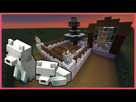 EASY Minecraft Arctic Fox Pen Tutorial