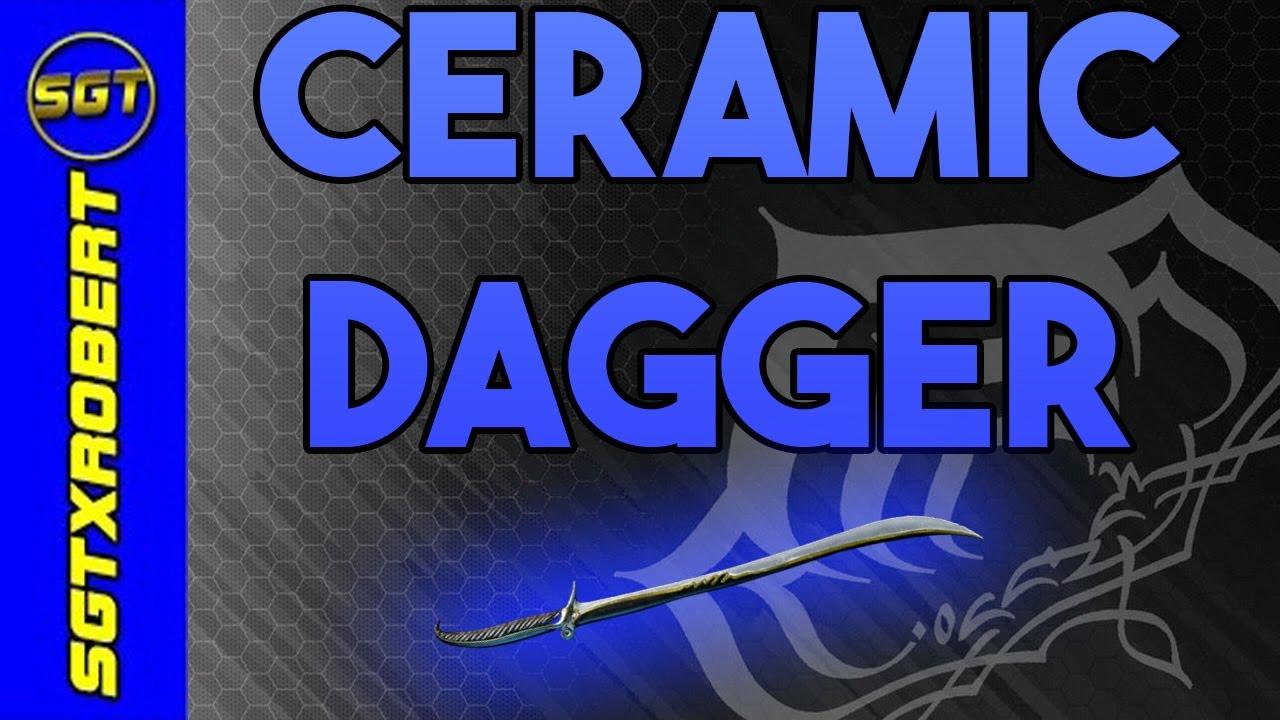 Warframe Ceramic Dagger Review Youtube