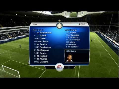 FIFA 13 FUT coins giveaway: Prediction for Tottenham-Inter Milan 3-0