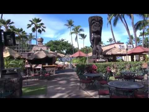 A morning walk around the beautiful Kaanapali Beach Hotel