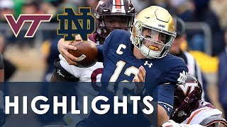 Virginia Tech vs. Notre Dame | EXTENDED HIGHLIGHTS | 11/2/19 | NBC Sports