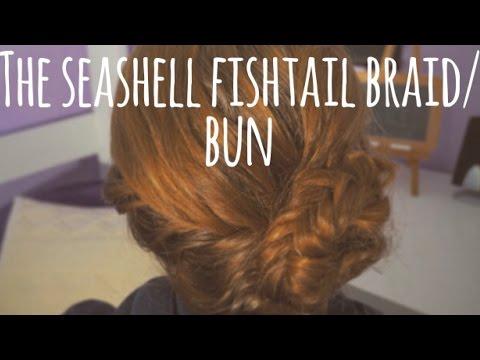 The Wavy Seashell Fishtail Braid/Bun