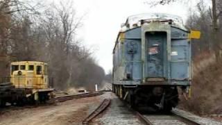 Moving B&O baggage car #633