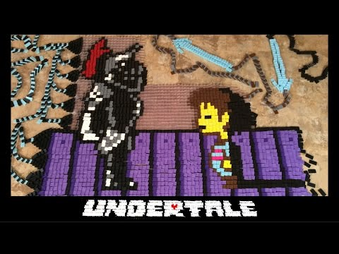 Thumbnail: Undertale - In Dominoes (80,000 Dominoes!)