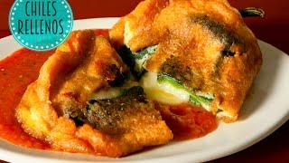 Chiles Rellenos (cocina Mexicana)
