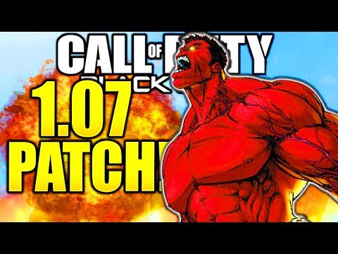 HUGE NEW UPDATE BO4 1.07 PATCH NOTES BLACK OPS 4 UPDATE 1.07 BO4 MULTIPLAYER PS4/XBOX/PC!