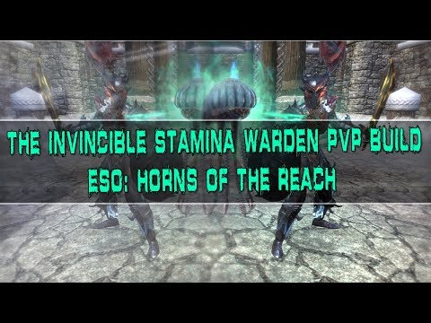 The Invincible Stamina Warden PvP Build (Double S&B) - Elder Scrolls Online: Horns Of The Reach