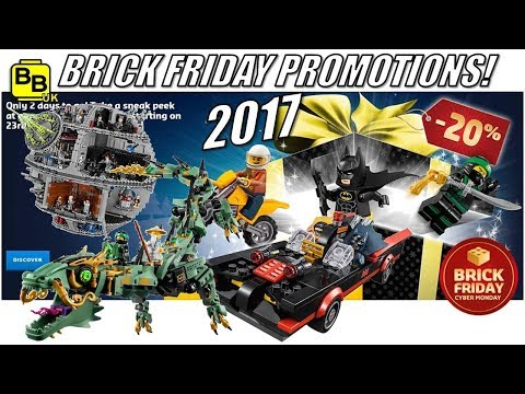 BLACK FRIDAY LEGO SHOP PROMOTIONS BREAKDOWN 2017!!