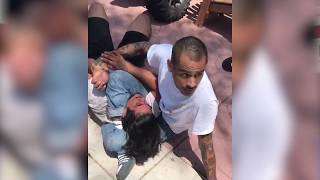 BJJ Black Belt Stops Burglar with Triangle Choke